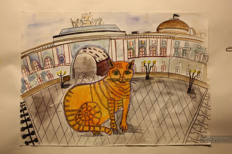 Конкурс эрмитажные коты 2017