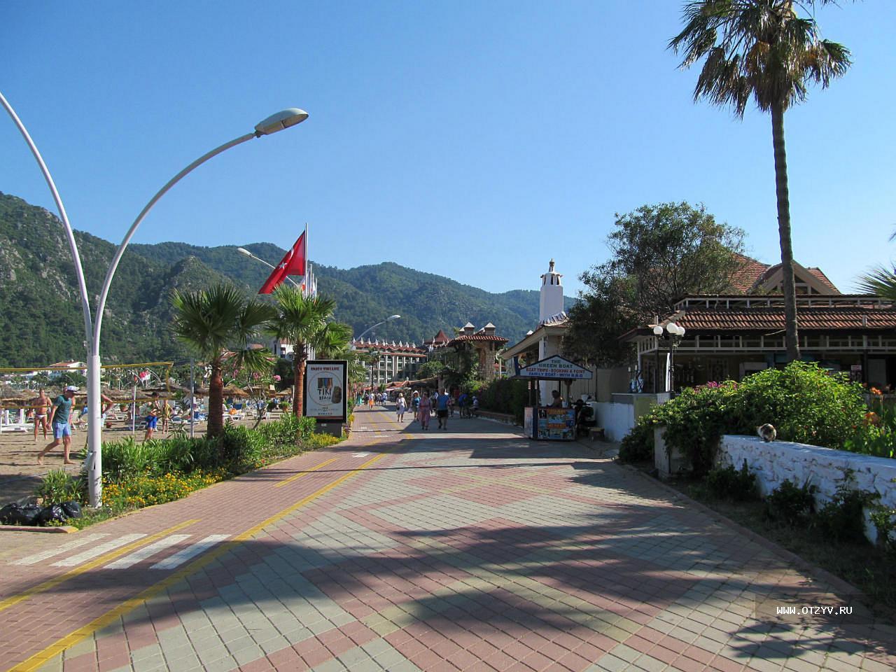 Ичмелер фото города и пляжей