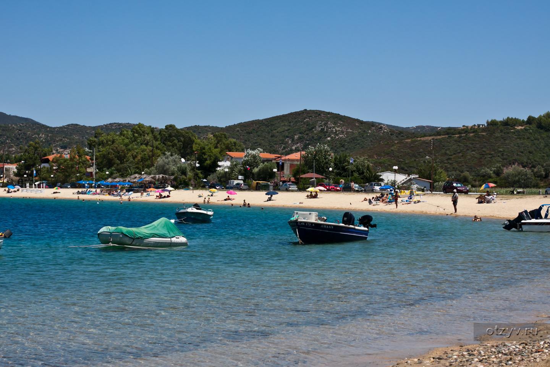 Греция салоники фото пляжей