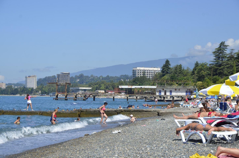 Пляжи абхазии фото отзывы 2018