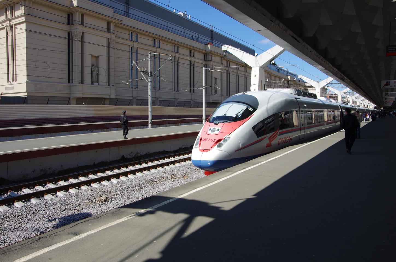 Картинки поездов москва-санкт-петербург