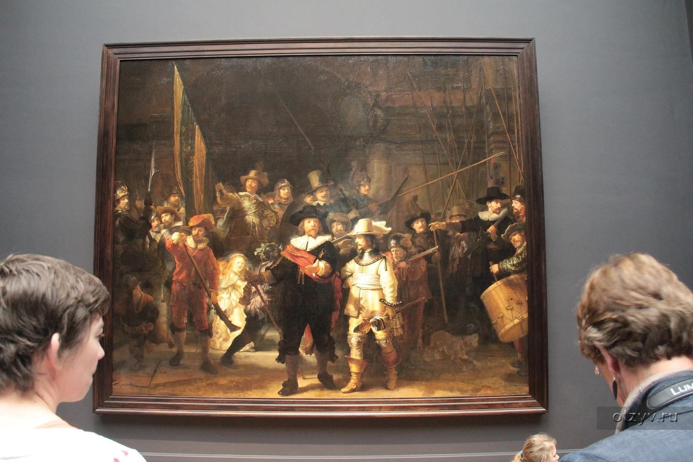 Где находятся картины рембрандта