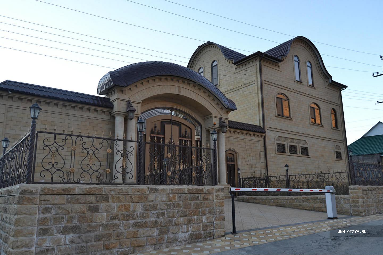 Дизайн чеченских домов