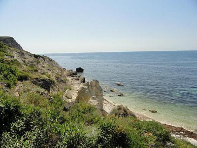 Отель на первой линии моря в Крыму