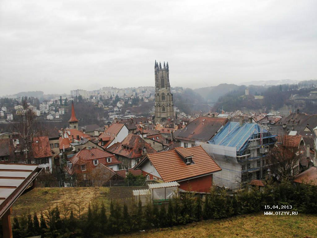 Обои дома, высота, городок, крыши, строение, вид, скала. Города foto 9