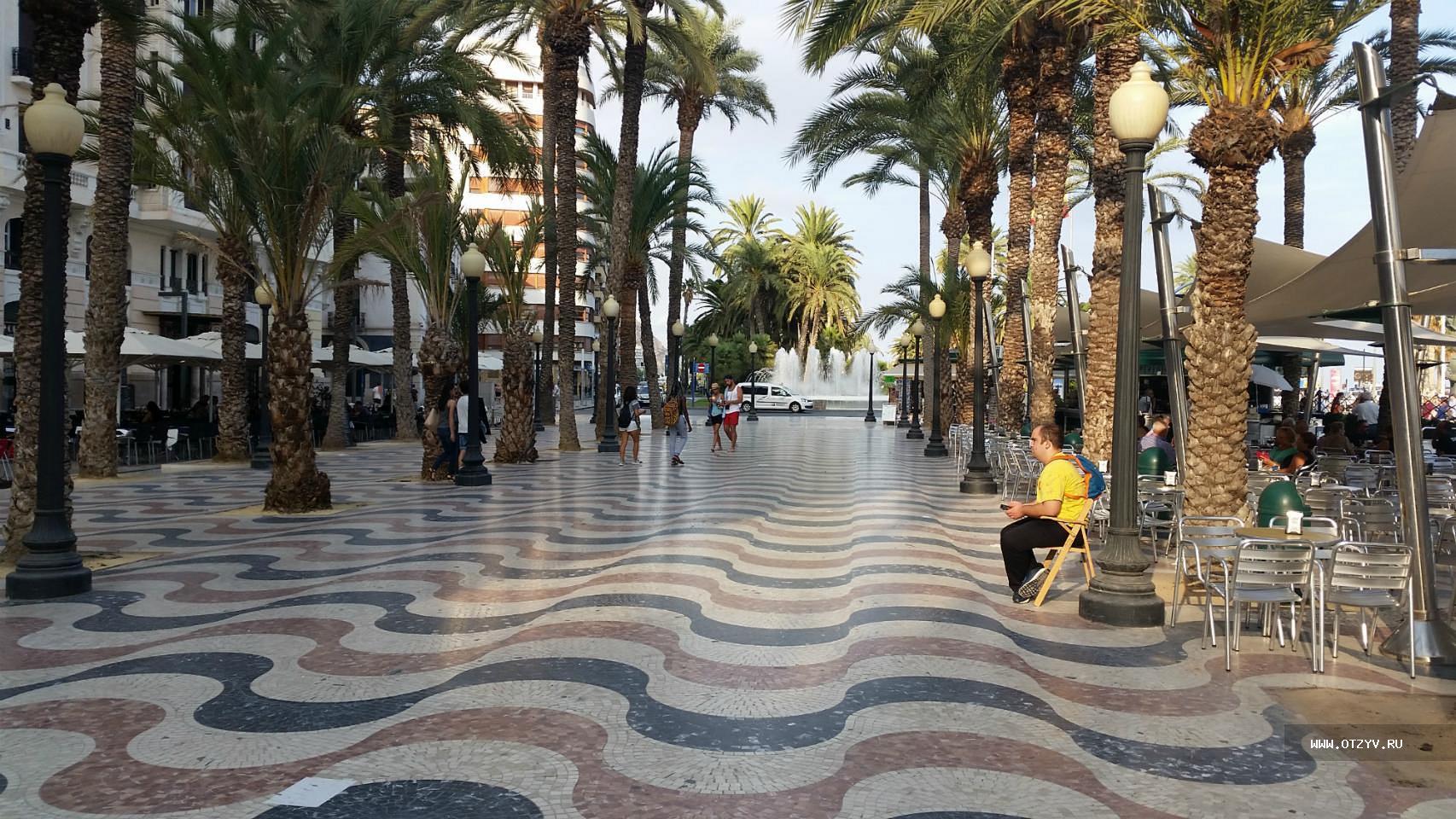 Испания город аликанте фото