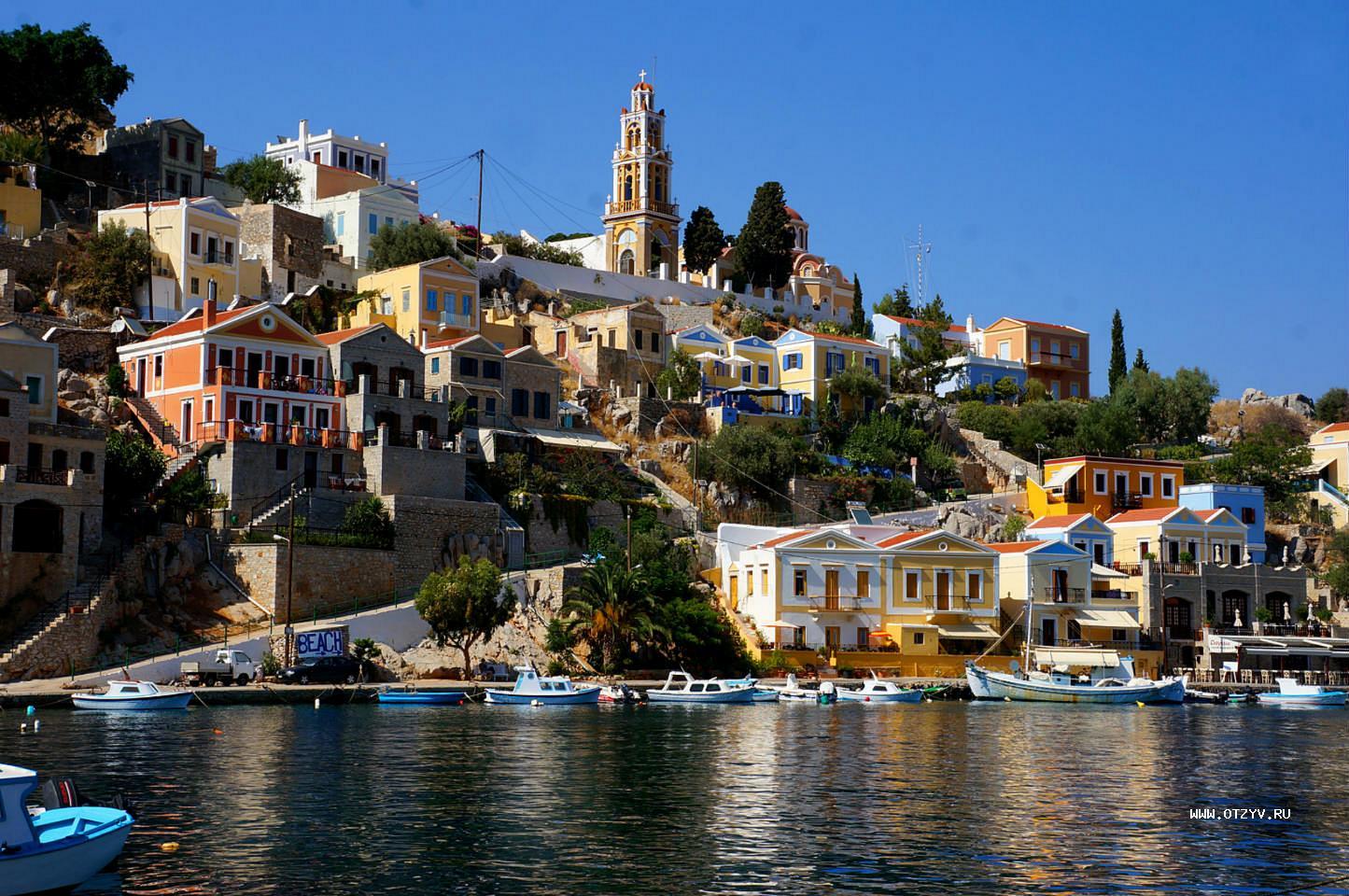 Родос. Греция. Лучшие пляжи острова.