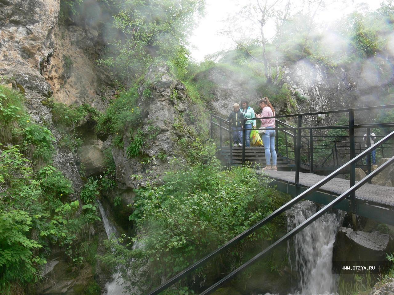 пример: время медовые водопады экскурсия из пятигорска легкое