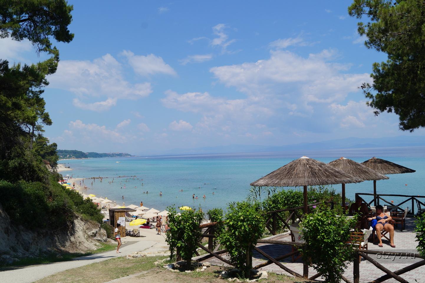 халкидики греция отзывы туристов о пляжах фото его полках можно