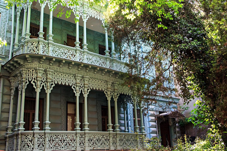 старинные грузинские дома фото стробоскоп может выступать