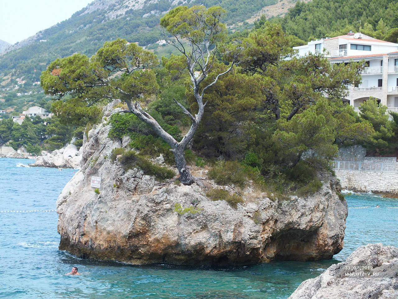 фото башка вода хорватия ведьма живет