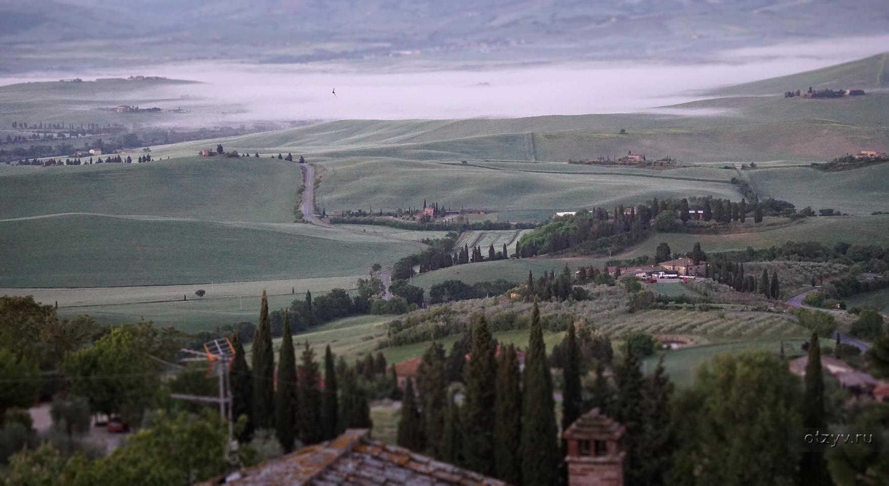 Тоскана майская фотоотчет