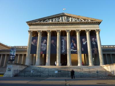выставка в музее изобразительных искусств: