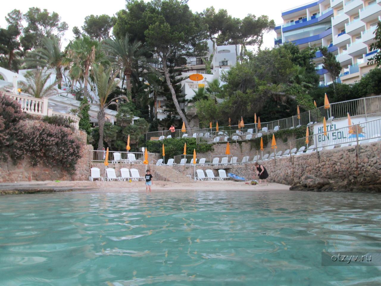 Отель с пляжем майорка фото