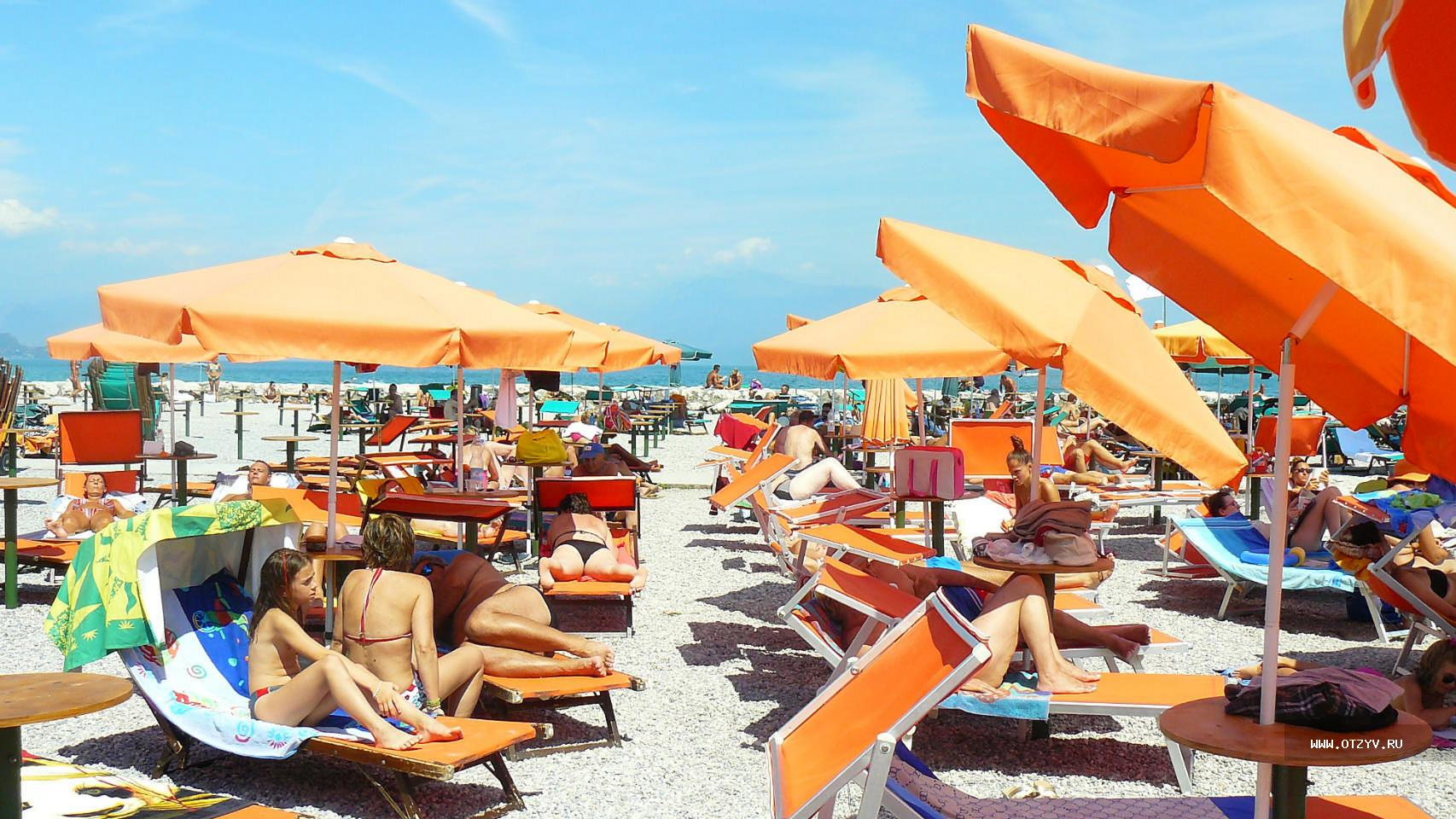 Meteo Garda in spiaggia ottobre