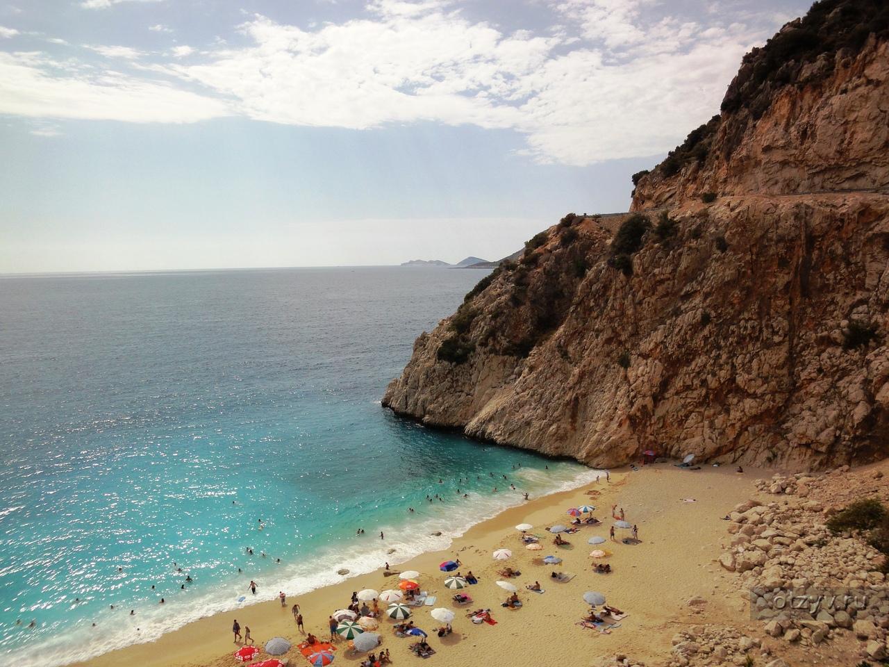 Фото пляжа калкан турция