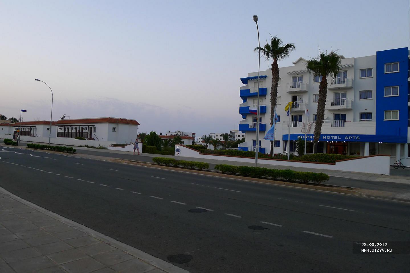 Hotel Maistros Hotel Apts Class A 4 (Cyprus, Protaras): description, reviews 87