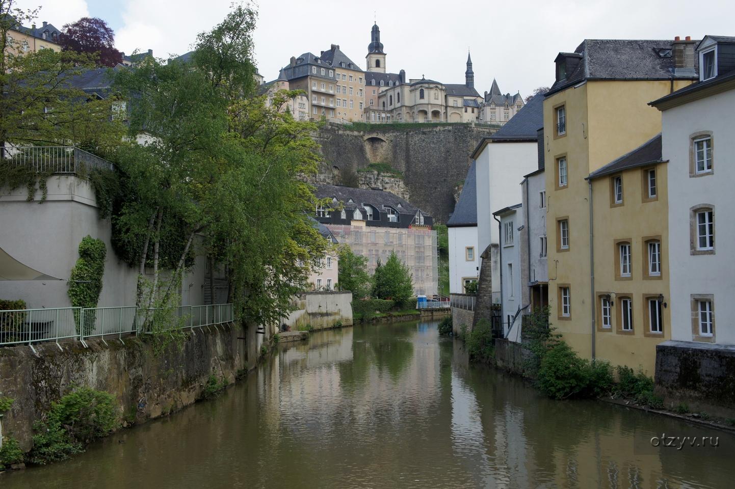 фото города люксембурга для проекта при включённой