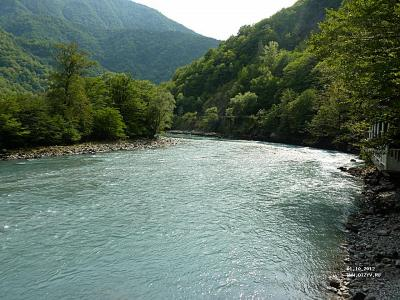 Абхазия: Гагры, Новоафонская пещера, Рица, Пицунда (самостоятельно)