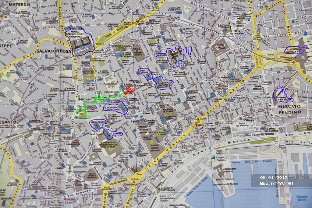 карта неаполя с достопримечательностями на русском языке скачать бесплатно - фото 4