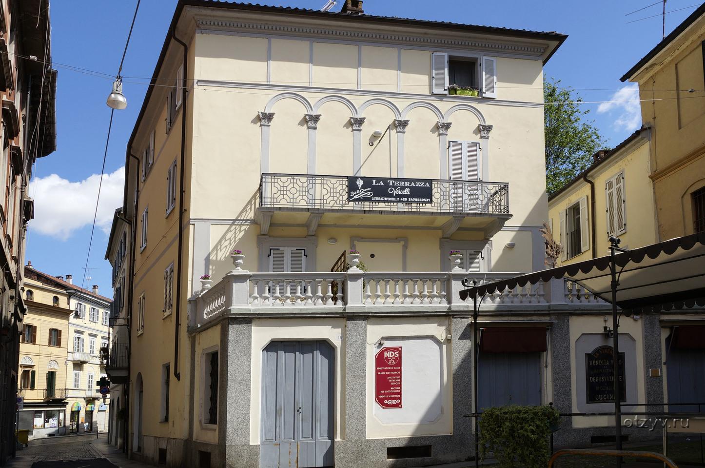 Studio apartment in Vercelli