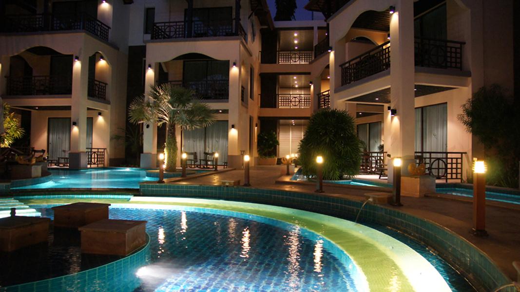 Отель Лонг Бич Паттайя Карта
