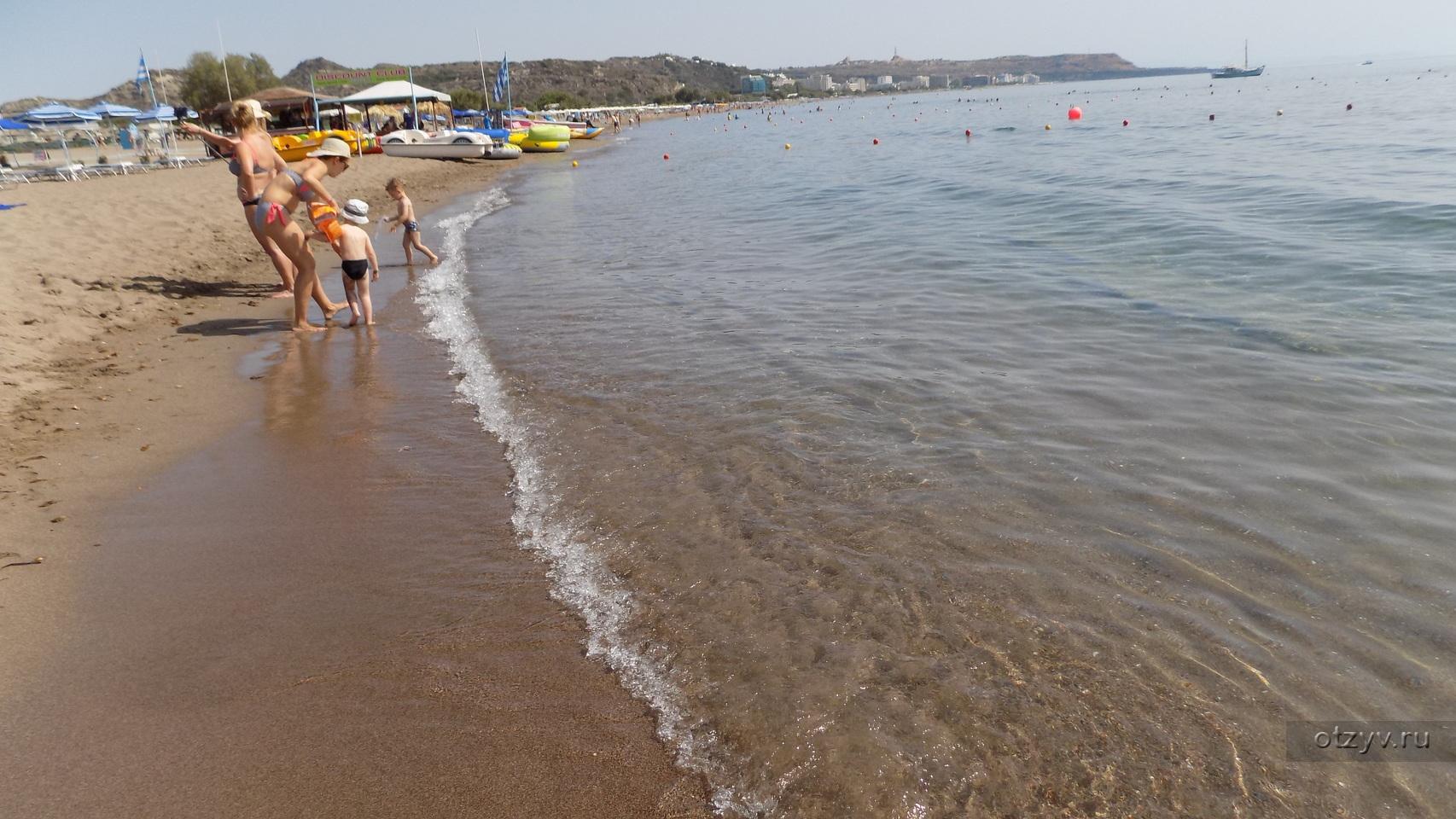 Пляжи родоса для отдыха