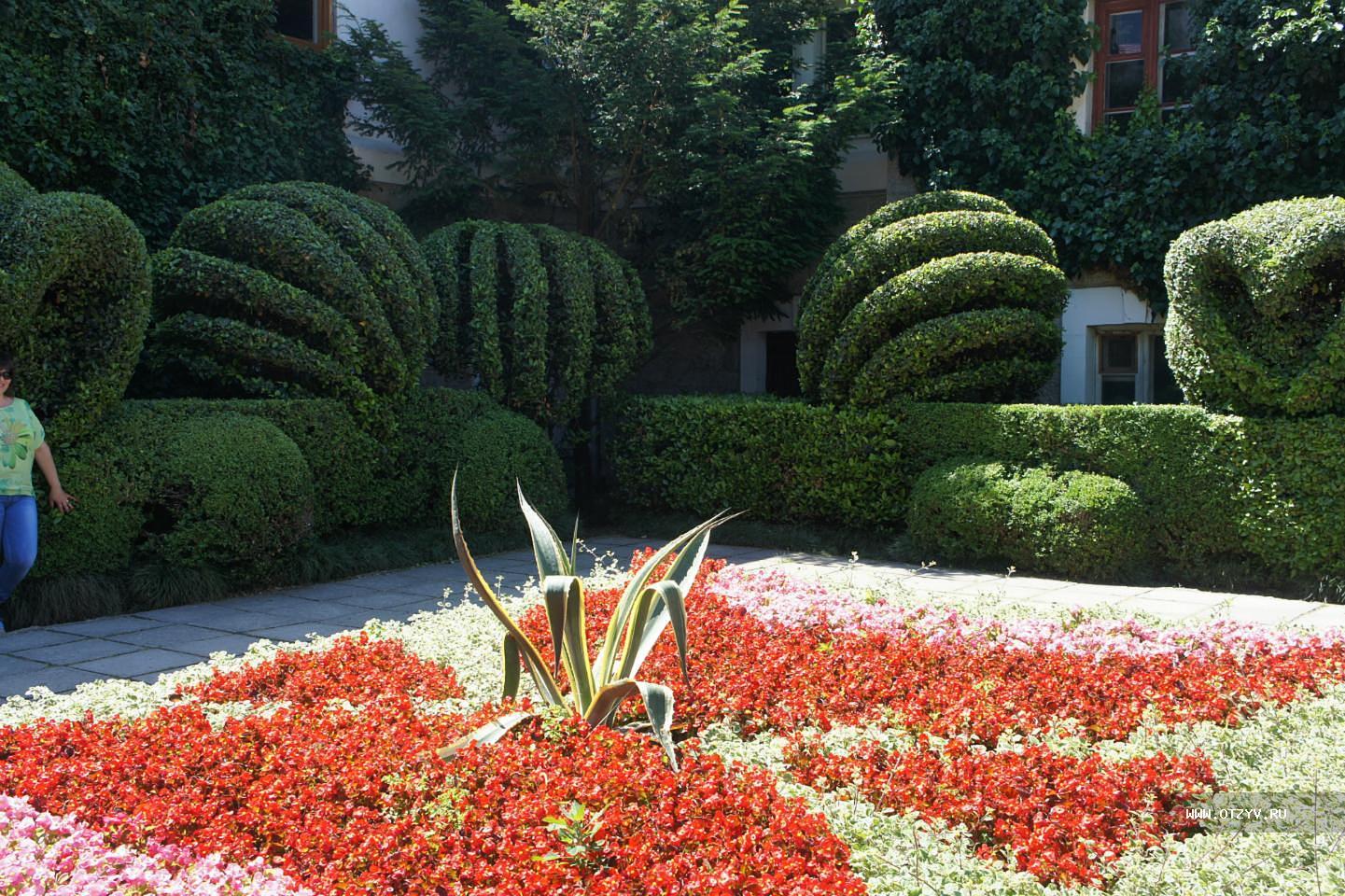 никитинский ботанический сад в ялте фото вместе снимались сериале