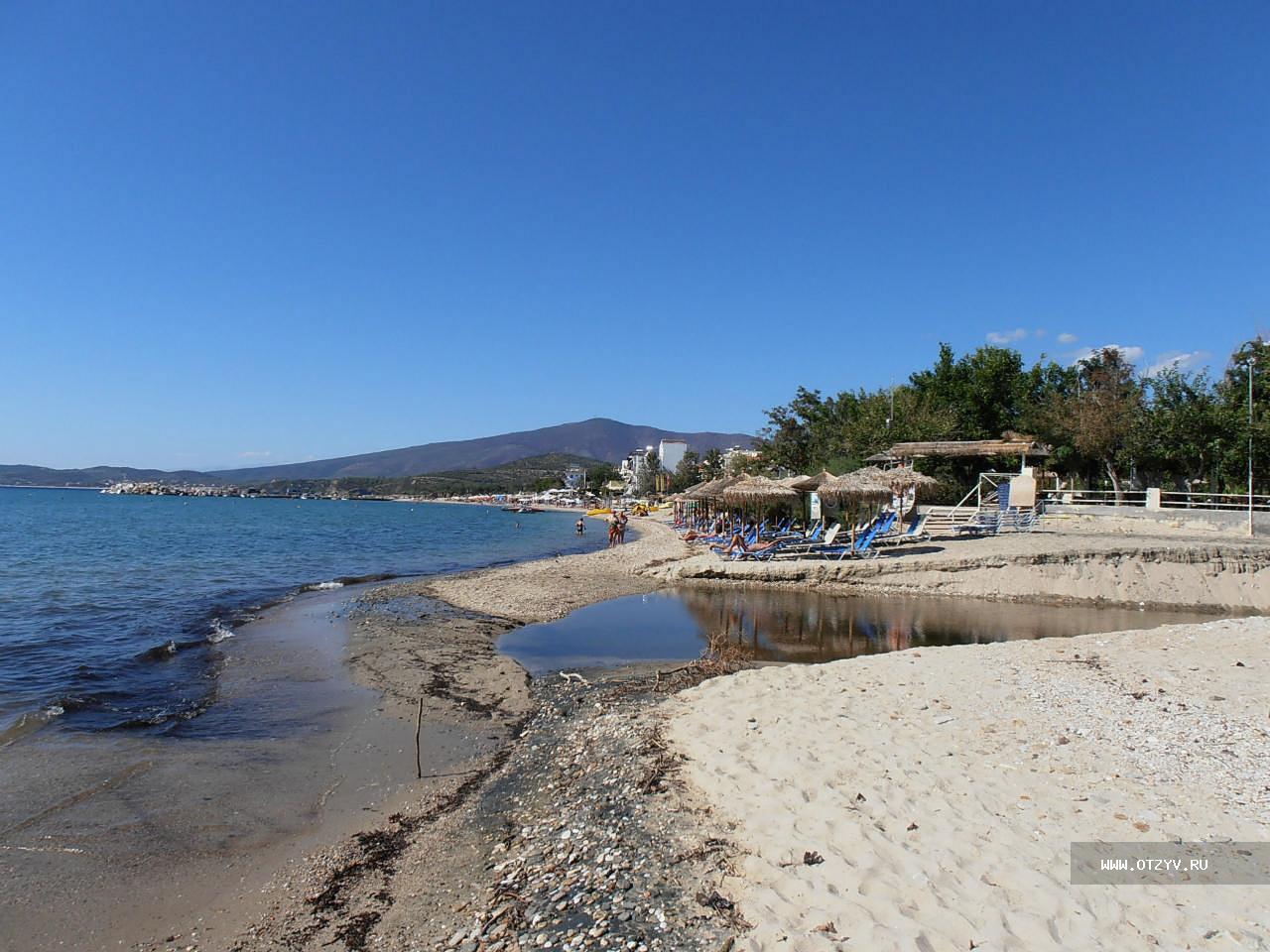 Пляж пефкари тасос фото