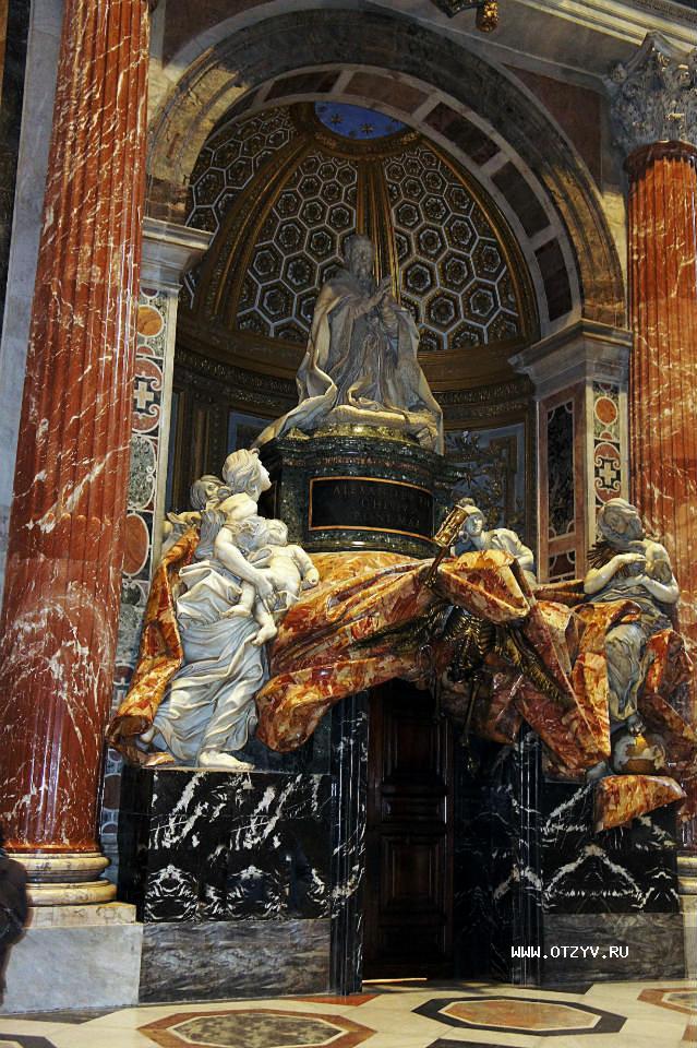 Бернини надгробие папы урбана Эконом памятник Арка Мончегорск