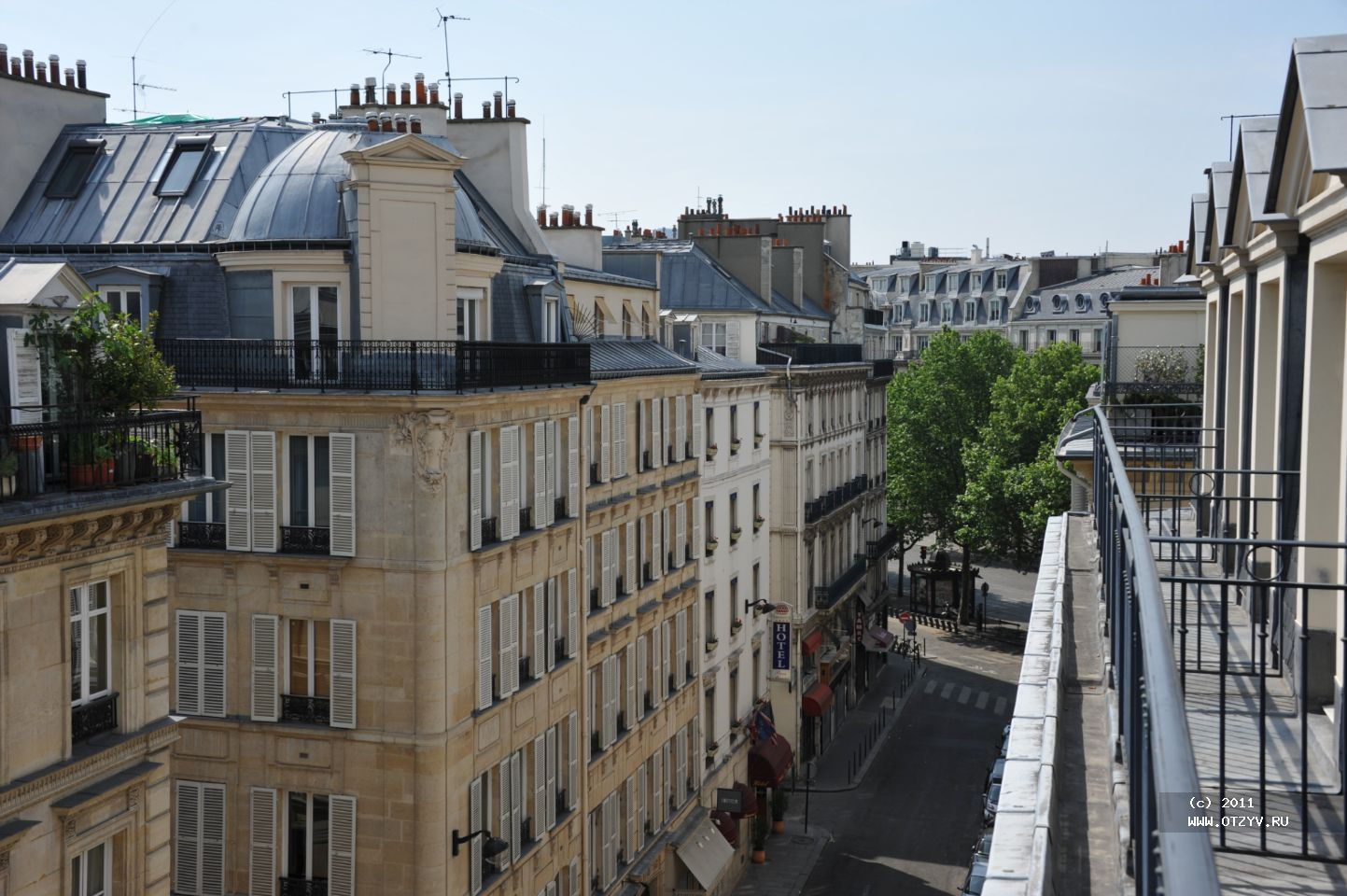 фото парижских мансард решил