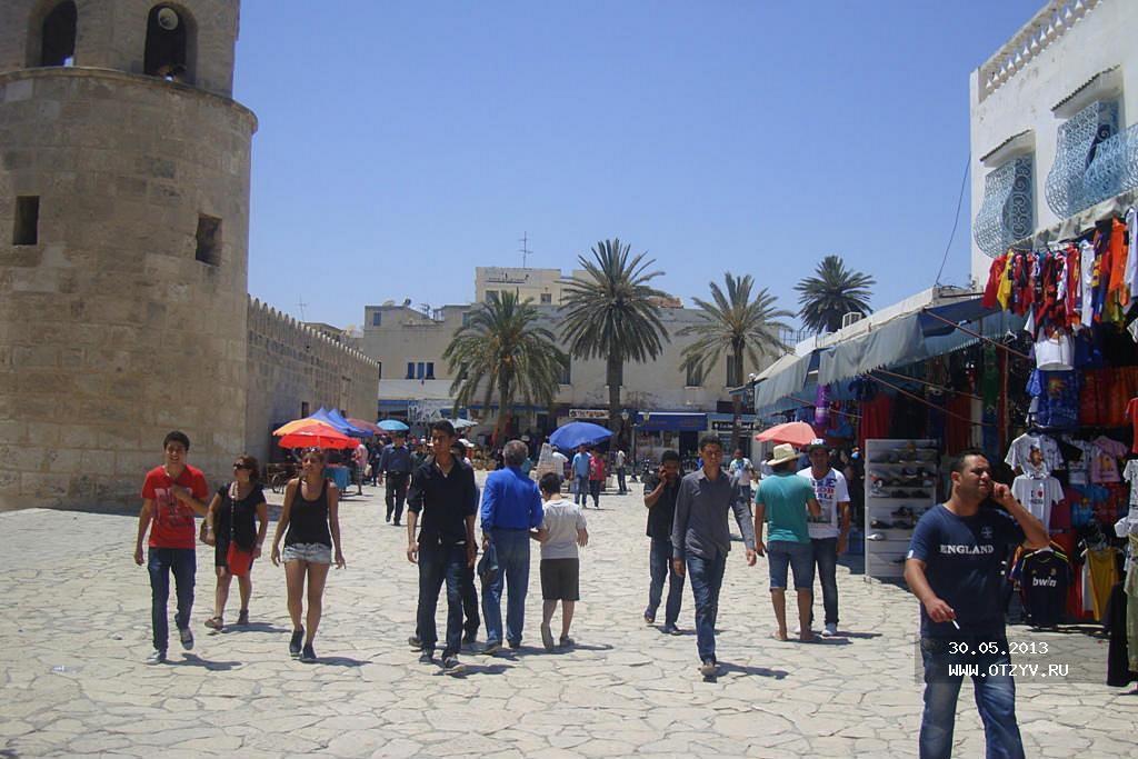 меддина (базар) в Тунисе - тунис сусс