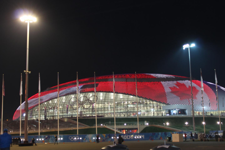 Электрокар в олимпийском парке фото #9