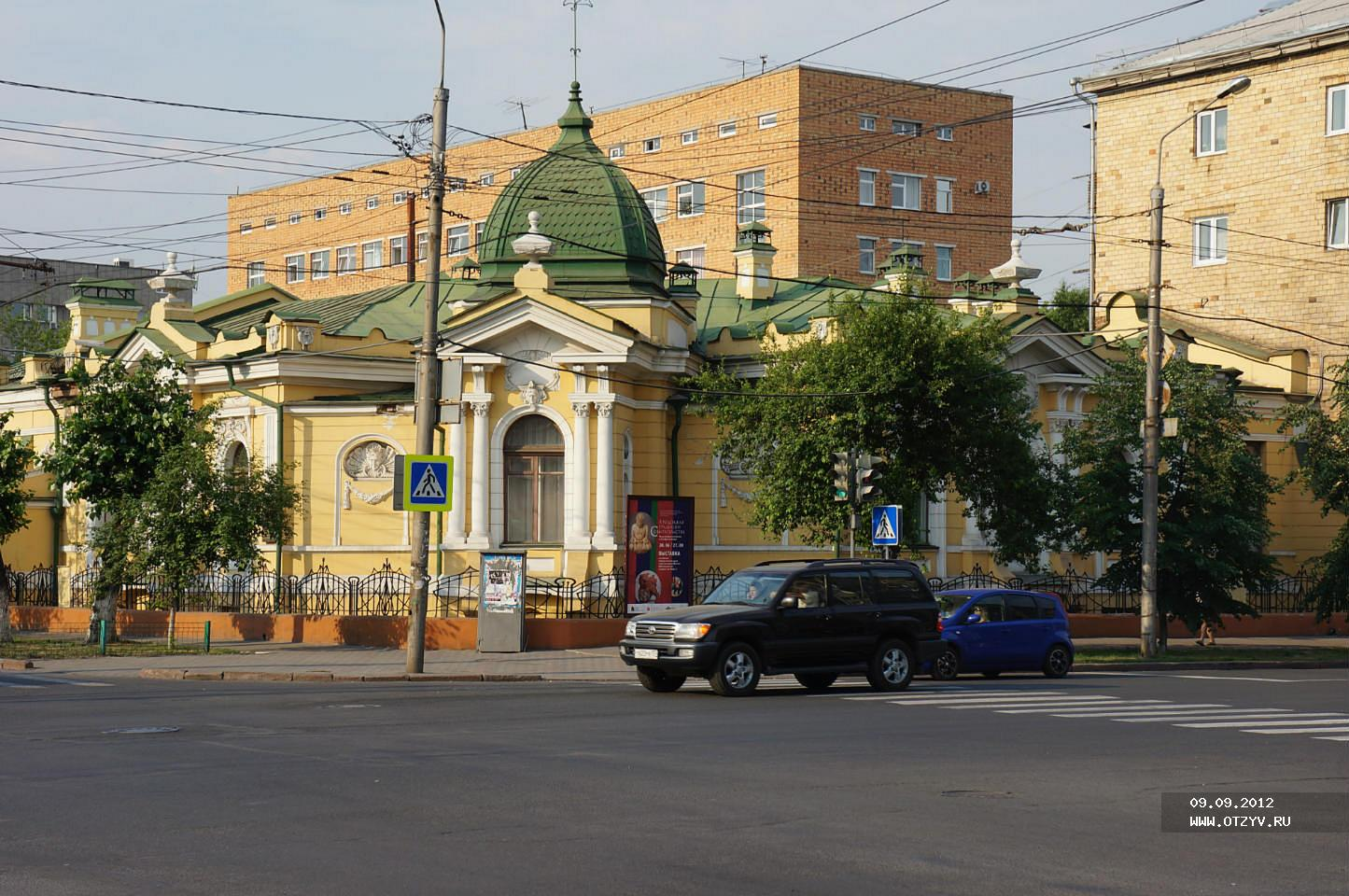 Старые и современные названия улиц Красноярска