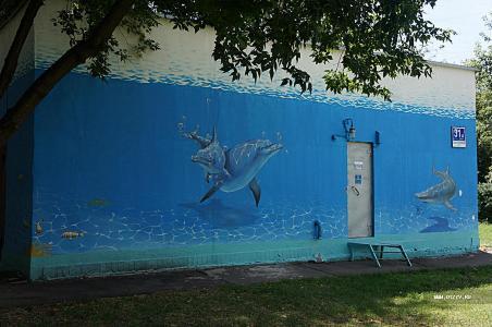 Достоевский на заборе. Московские граффити 2014 года