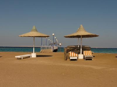 Хургада, Coral Beach Rotana Resort, територия отеля