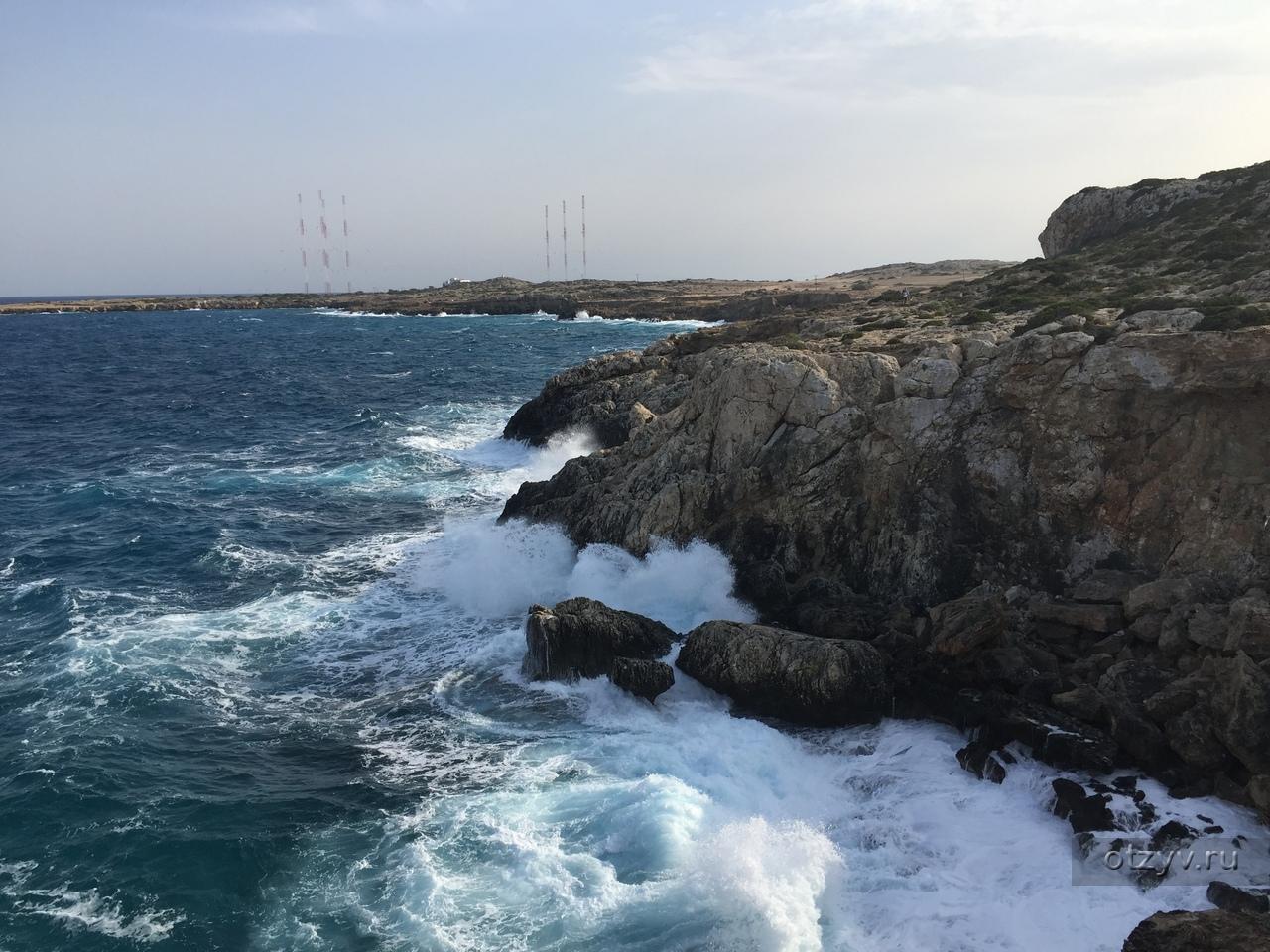 Погода на Кипре / Температура воды в море / Карта погоды