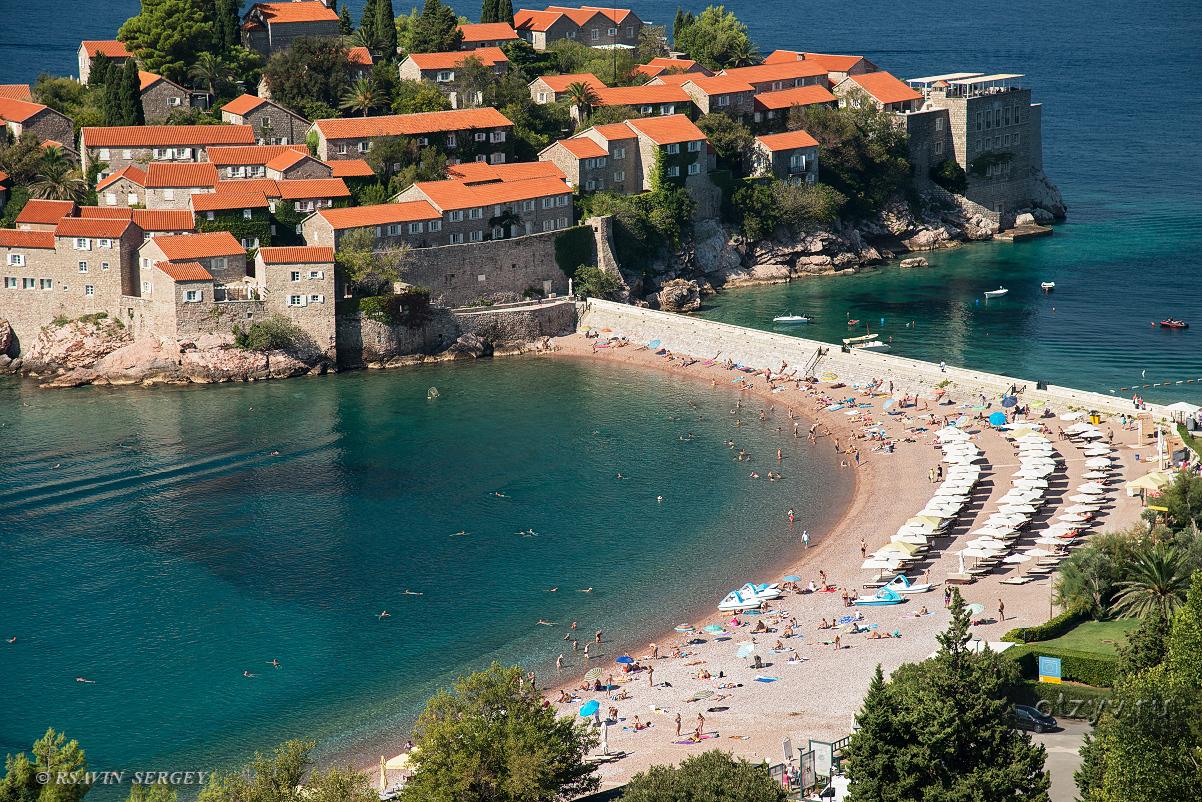 черногория остров святого стефана фото создать