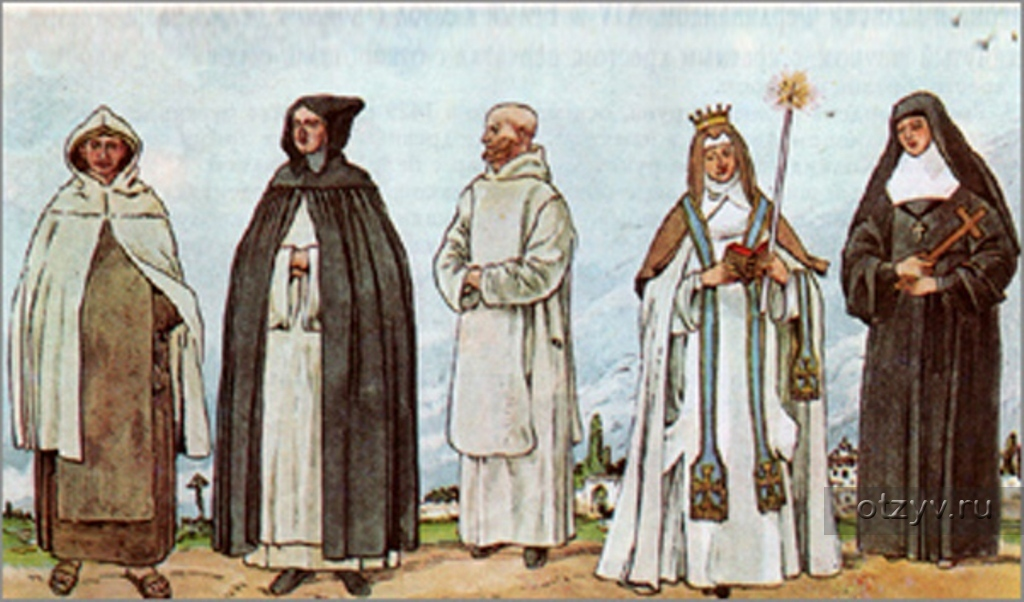 история католического монашества реферат