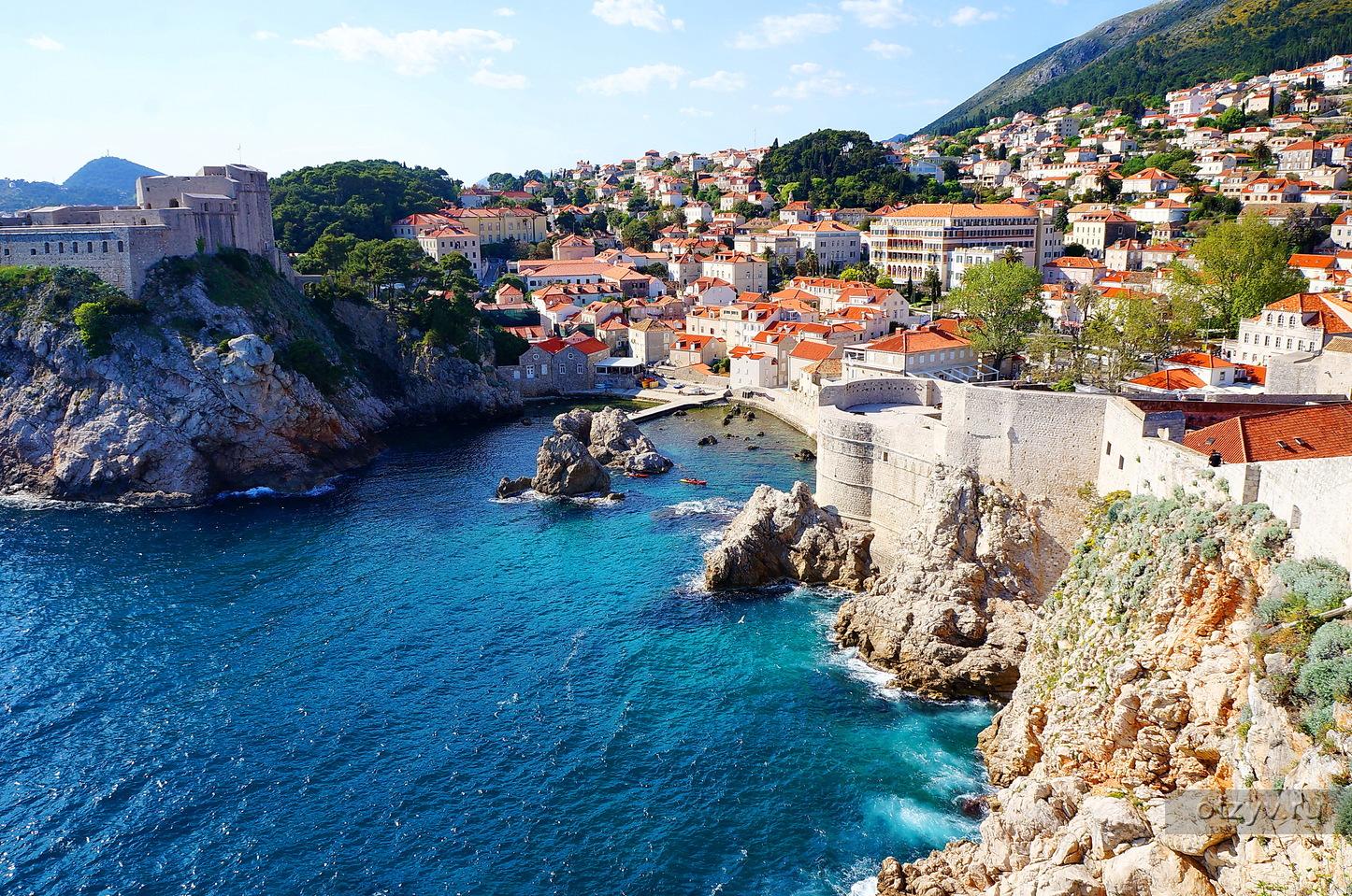 Бывшая столица римской провинции Далмация, город Сплит - второй по населению в Хорватии