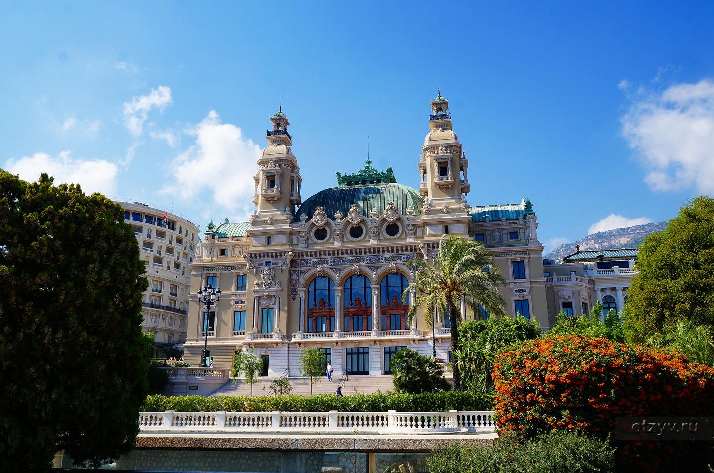 Monaco - КАЗИНО МОНТЕ-КАРЛО / Памятники