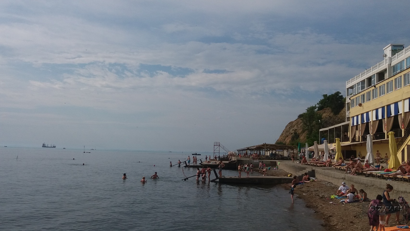 Малая бухта фото пляжа
