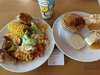 food (LEGOLAND Windsor Resort Hotel)