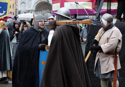 Средневековое профессиональное нерыцарское фехтование