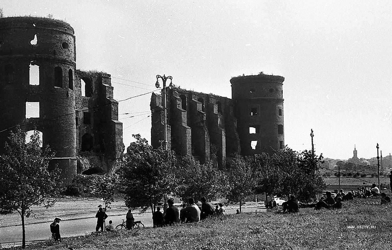 Фото послевоенный калининград королевский замок 2