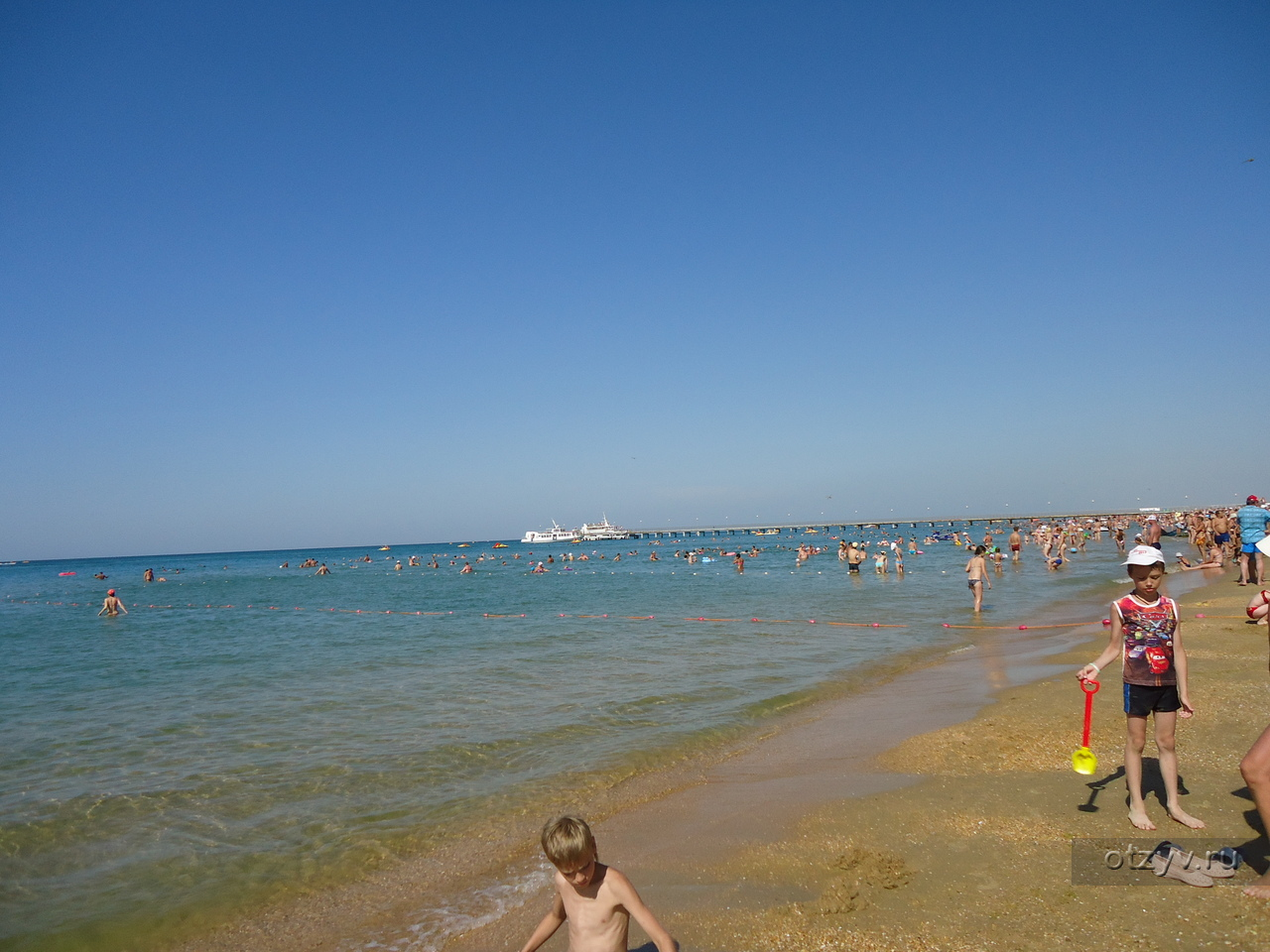 Поселок витязево фото пляжей и набережной
