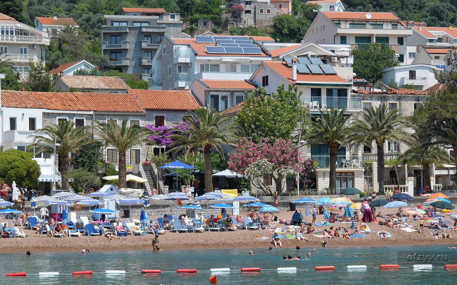 Курорты Черногории с песчаными пляжами Фото курортов