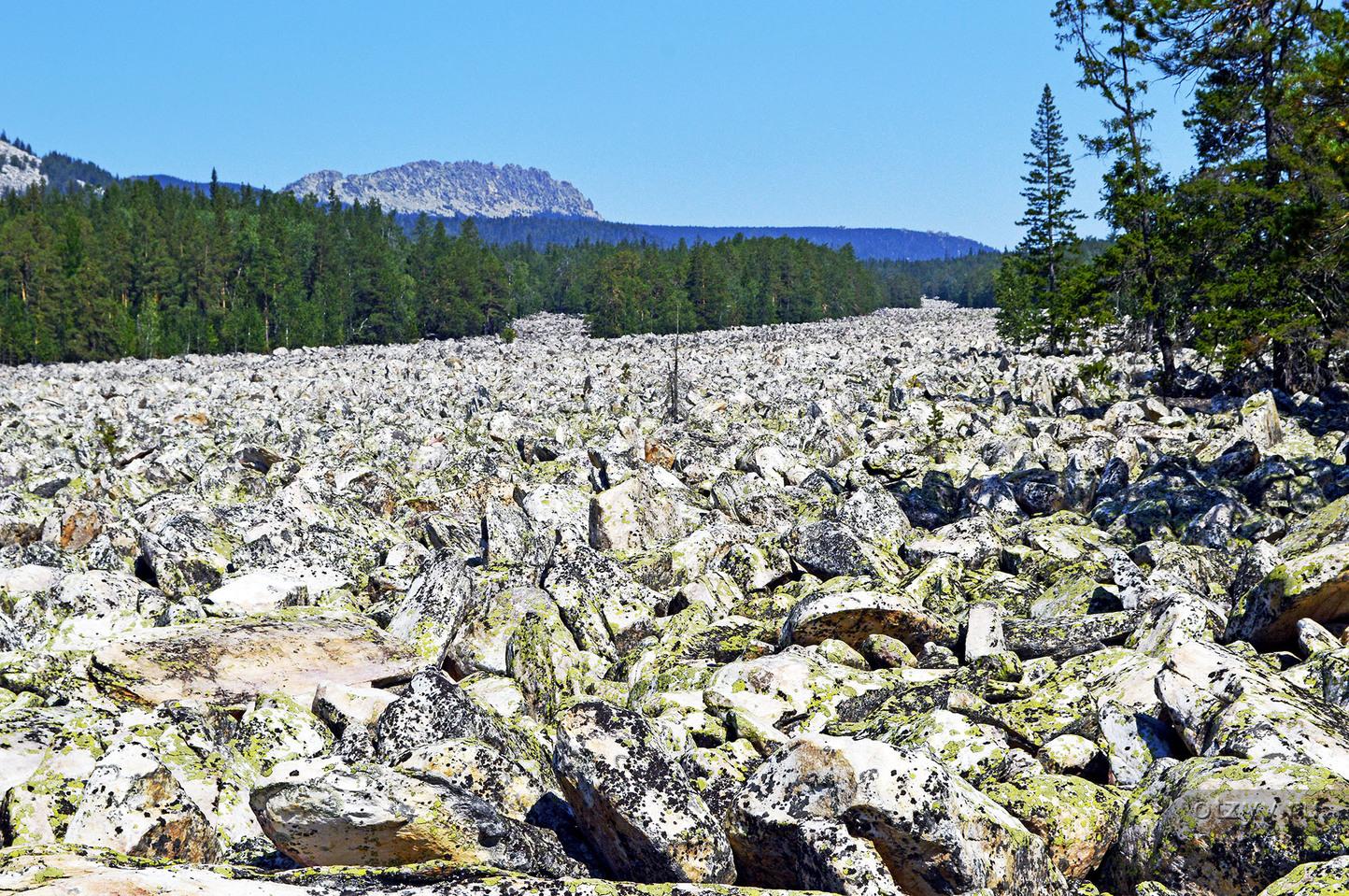 каменная река таганай фото нас