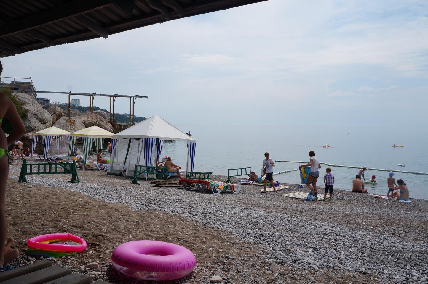 Пляжи мисхора отзывы 2018 фото