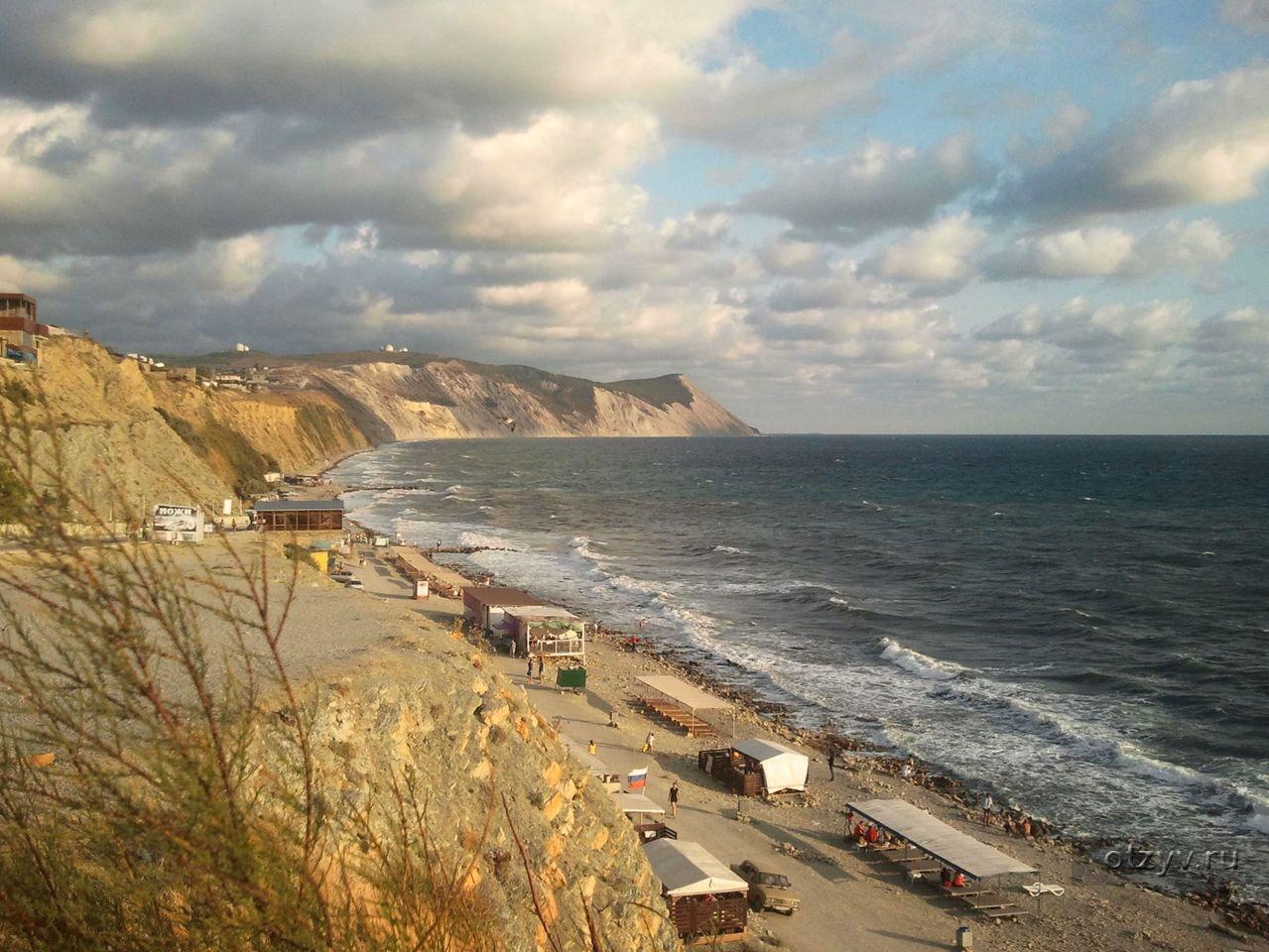 отдых пляж высокий берег анапа фото можно